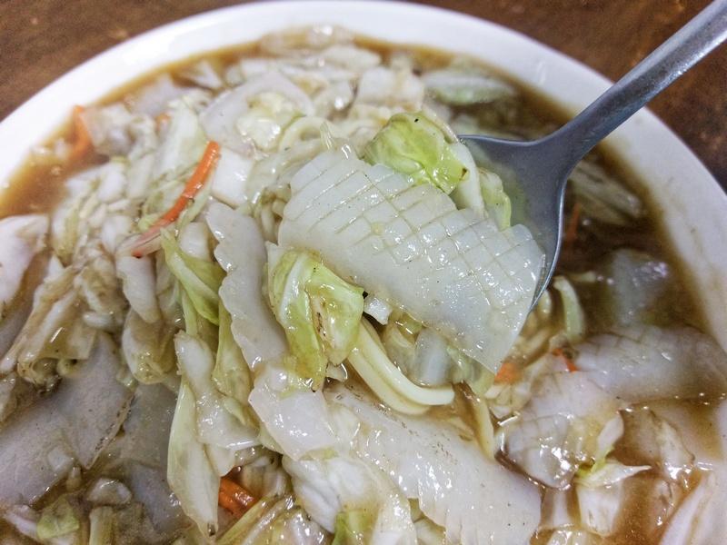 台灣第一家素食花枝麵、鱔魚麵,苓雅平價美食~野菜園素食館(仁愛店)