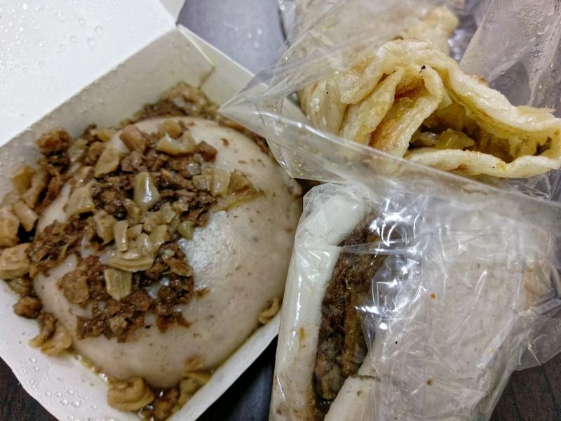 高雄文藻大學附近的平價素食早餐~美味刈包.燒餅.蛋餅.飯糰