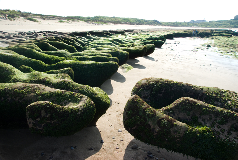 老梅石槽海岸