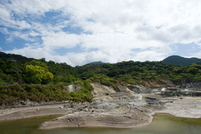 硫磺谷地熱景觀區