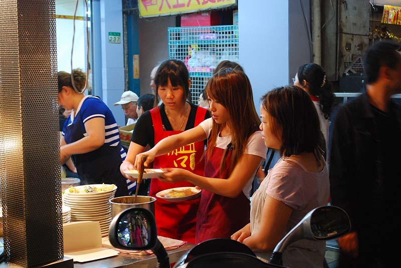 台北華西街商圈