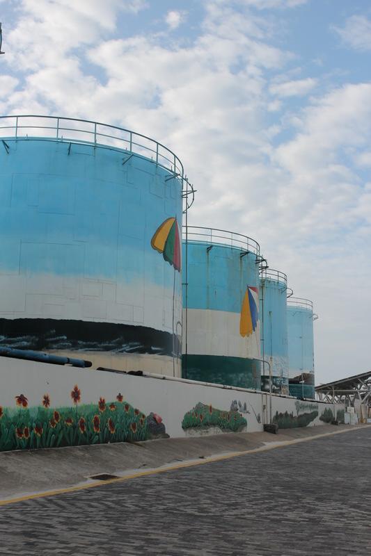 澎湖系列-彩繪油桶