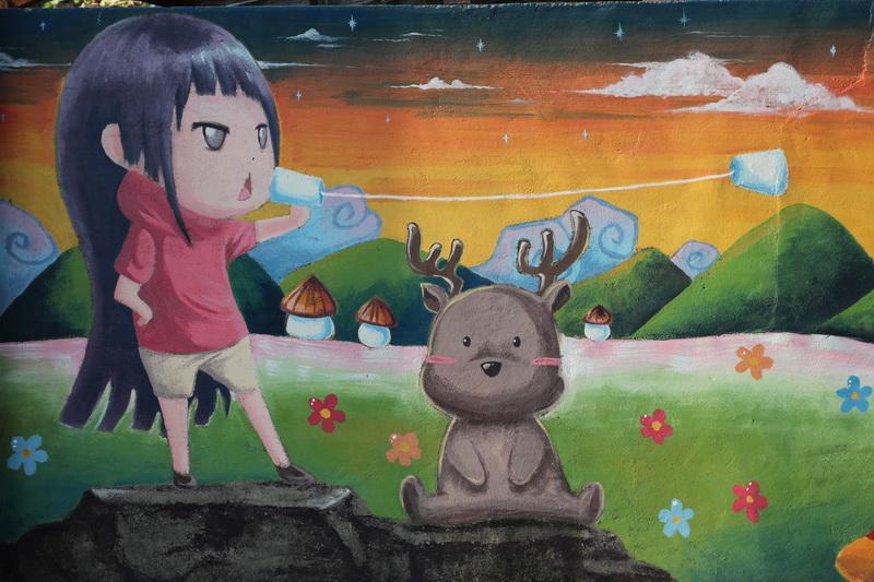 雲林小鹿彩繪村
