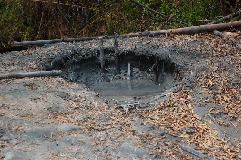 月世界泥火山