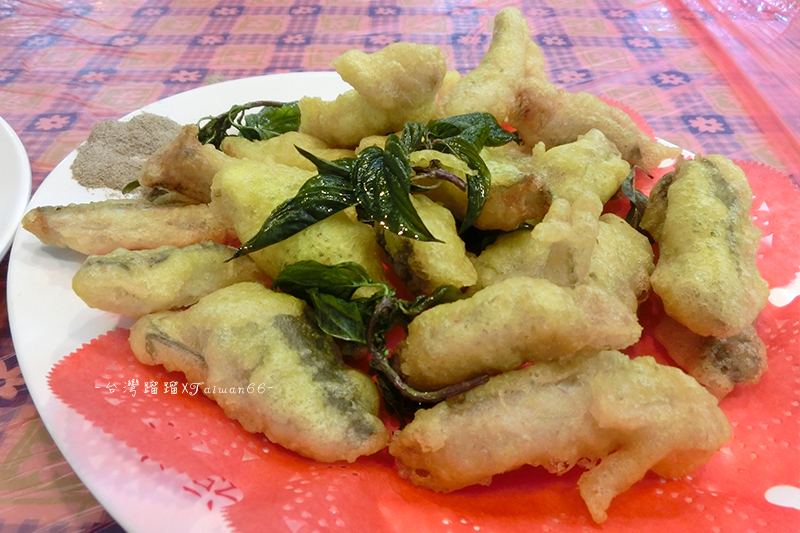 東港華僑市場,福海,海鮮熱炒,那個魚,小鰭鐮齒魚