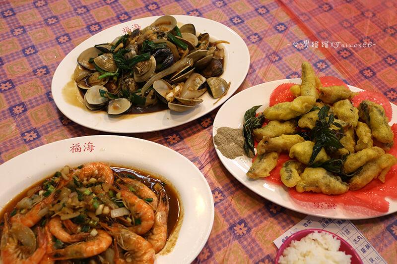東港華僑市場 福海 海鮮熱炒