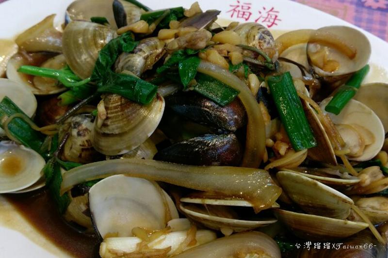 東港華僑市場,福海,海鮮熱炒,蛤蜊